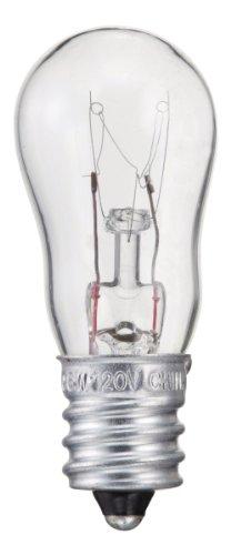 - Philips 416693 6-Watt S6 Candelabra Base Indicator Light Bulb, 2-Pack