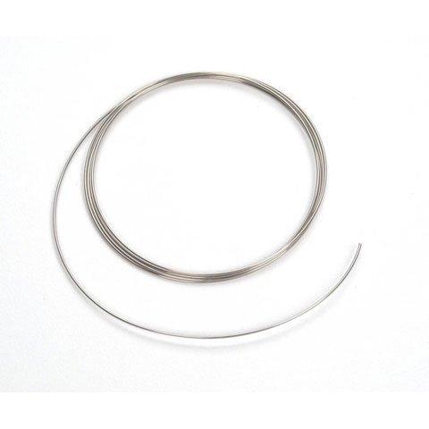 Bulk Buy: Darice DIY Crafts Memory Wire Bracelet Silver 4 Coil 4 pieces (6-Pack) 1904-95