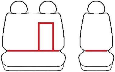 Passgenaue Kunstleder Sitzbez/üge VIP und Gummifu/ßmatten kompatibel mit Peugeot Boxer ab 2016 EIN Set