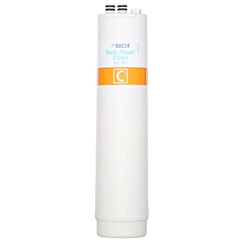 Brita Redi-Twist Lasts up to Six Months, No Mess, Certified Lead Reduction, Reduces Cysts, Under Sink Replacement Filter by Unknown