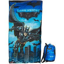 Discover Bargain Batman The Dark Knight Rises Slumber Bag and Duffle Bag (29 x 55)