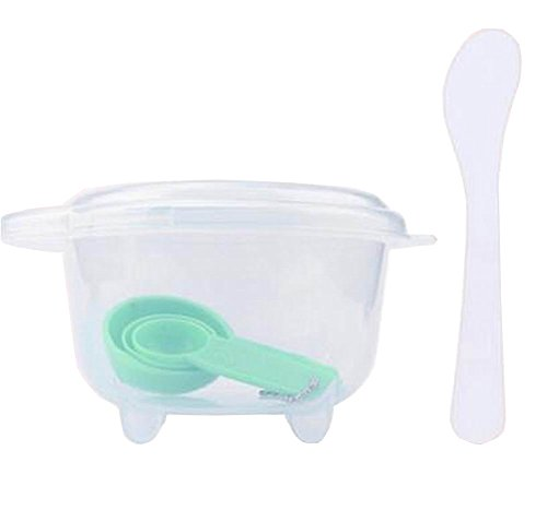 Green-Set-of-DIY-Facial-Mask-Tools-Face-Mask-Mixing-Bowl-Set