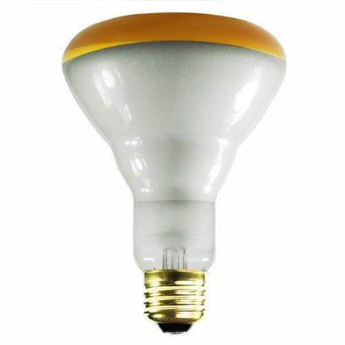 Prism BC9270 404028 - BR30AMB65/5 - Amber 65W Incandescent Flood Light Bulb by Prism