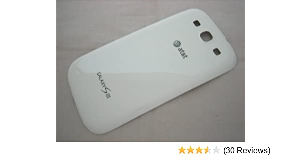 Samsung Back Cover for AT&T Samsung Galaxy S3 SGH-i747 - Original White