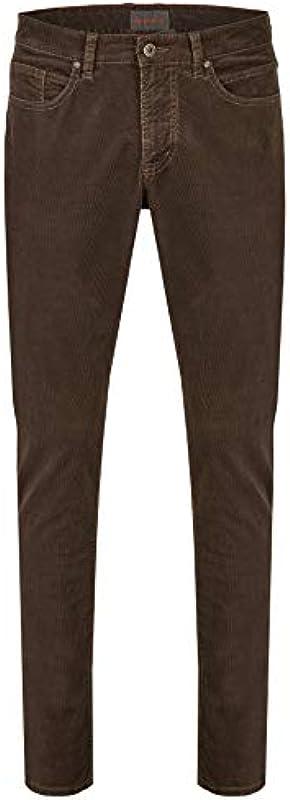 Hattric Harris męskie spodnie 5-kieszeniowe, styl vintage, z długim rękawem, w stylu Harris: Odzież