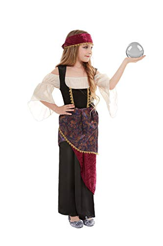 Fortune Teller Costume For Girls - Smiffys 50786M Deluxe Fortune Teller Costume,
