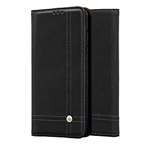 DOB® OnePlus 9/1+9 / One Plus 9 Flip Cover PU Leather Wallet Case Slim Book Case Kickstand Function Push Magnetic Closer…