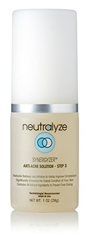 Neutralyze Moderate To Severe Acne Synergyzer - Maximum Strength Anti Redness Cream With Nitrogen Boost Skincare Technology Anti Redness Treatment