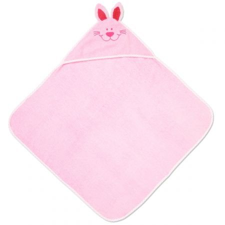 Personalized Baby Bunny Hooded Animal Cotton Beach and Bathroom Towel, 100% cotton, Custom embroidered -30'' x 30''