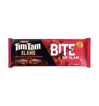 Arnotts Tim Tam Slam Dark Chocolate Raspberry 175g: Amazon com