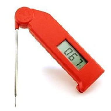 Thermapen Instant Read Thermometer (RED) - Thermoworks