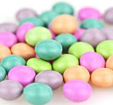 Chocolate Mint Covered - Gourmet Mints - Assorted Colors-2 1/2 lbs.