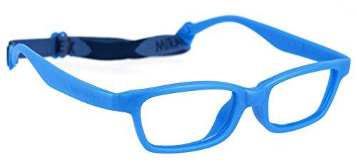 Miraflex MAYA Modified Eye Glass Frame w/ Extended Heel 42/15 Royal Blue