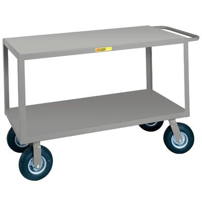 24'' x 63'' Utility Cart with Writing Shelf and Storage Pocket by Little Giant USA