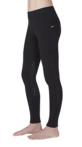 Kerrits Kids Ice Fil Tight Black Size: Small