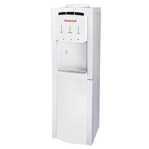 Honeywell HWB1033W Cabinet Freestanding Hot, Cold & Room Water Dispenser with Stainless Steel Tank to help improve water taste and...