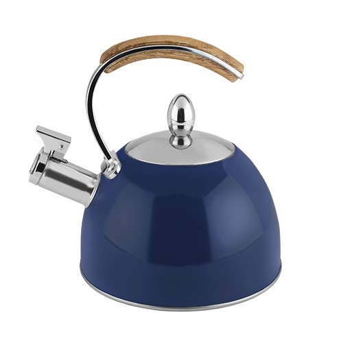 Pinky Up 5056 Tea Kettle Navy