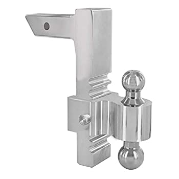 Image of Andersen Hitches Rapid Hitch 3413 4'-10' Drop   Includes 2' x2-5/16 Plated Steel Dual Combo Ball   Ball Mount Rapidly Adjusts   Includes 2 Bumper Stickers   Fits 2' Receiver Ball Mounts