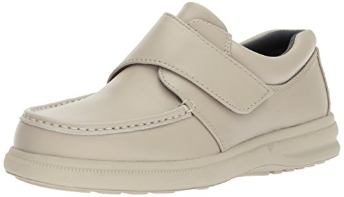 Hush Puppies Mens Gil Slip-On Shoe Sport White Leather