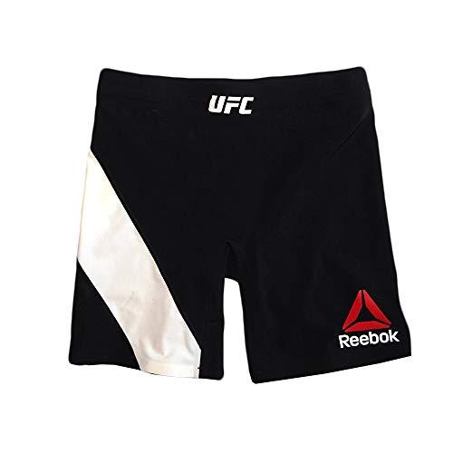 (Reebok UFC Crossfit Women's Black Fight Night Octagon Vale Tudo 1 Shorts (L))