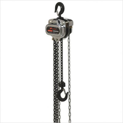 Ingersoll Rand Manual Chain Hoist - 1 1/2-Ton Lift Capacity, 10-ft. Lift, Model# SMB015-10-8V