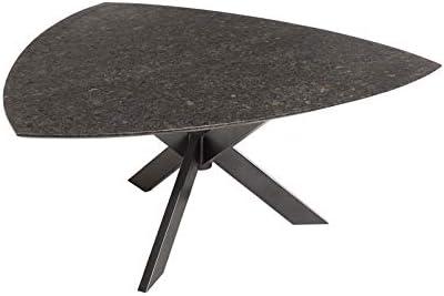 Amazon De Kolle Granit Gartentisch Pearl Black Satiniert
