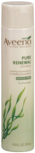 Aveeno Pure Renewal Shampoo, 10.5 Ounce Pack of 12
