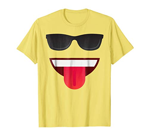 Halloween Emojis Costume Shirt Emoticon Smile ()