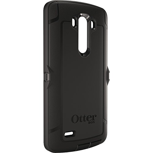 Otterbox LG G3 Defender Series Case with Belt Clip Holster - Retail Packaging - Black