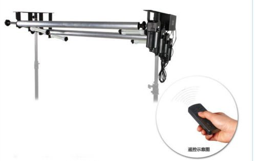 LB 4-Roller Remote-Control Motorized Electric Background Backdrop Support System by LB (Image #2)