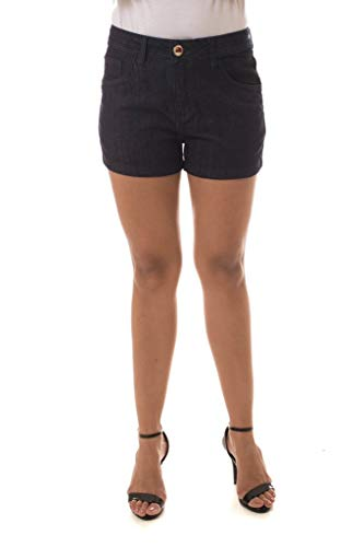 Shorts Jeans Eventual Mid Drop Azul 38