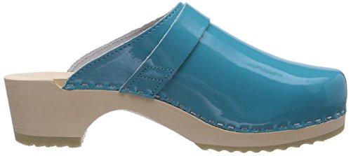 Gevavi6006 BIGHORN - Zuecos Mujer Azul - Blau (blau(aqua lak) 88)