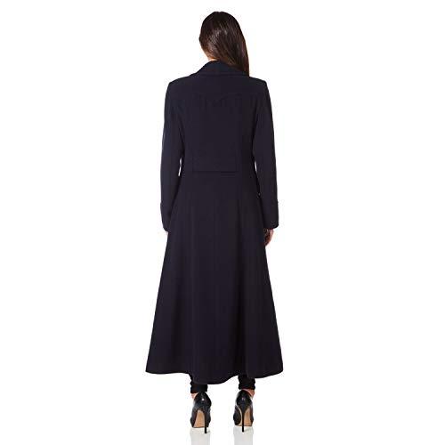 para Marino Manga Larga Anastasia Abrigo Azul Mujer Abrigo qx4wFwI