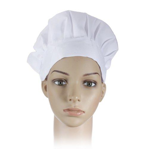 dipshop-adult-elastic-white-chef-hat-baker-bbq-kitchen-cooking-hat-costume-cap