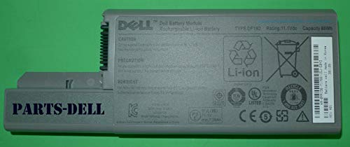 (Genuine OEM Dell 85WH CF623 MM165 Type DF192 9-Cell 11.1V Rechargeable Li-Ion Notebook Laptop Battery For Latitude: D531, D531N, D820, D830, Precision M65, M4300, Workstation M4300 Systems Compatible Part Numbers: MM156, CF623, CF704, CF711, DF192, DF249, DF230, DF249, FF232, GX047, MM165, XD736, XD739, YD623, YD624, YD626, 310-9122, 310-9123, 312-0393, 312-0394, 312-0401, 312-0402, 312-0538, 451-10308, 451-10309, 451-10326, 451-10327, 451-10309, 451-10410, 451-10411)
