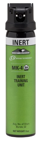 (Defense Technology Inert Stream MK-4 Pepper Spray (3.0-Ounce))