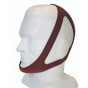 CareFusion Ruby Chin Strap, Red - Medium