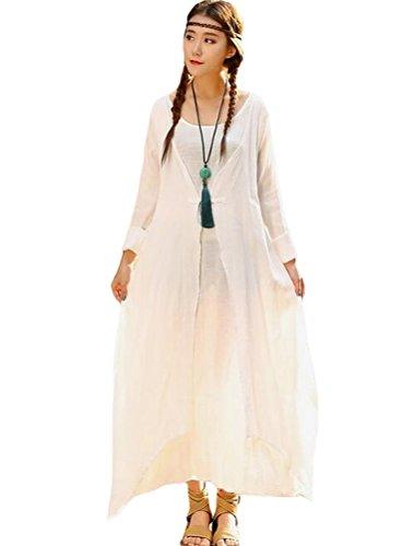 Vogstyle - Vestido - para mujer Stile-2 Bianco