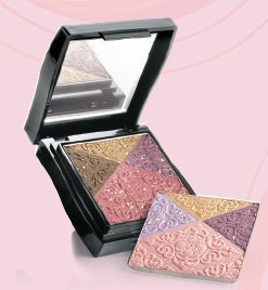 - Mary Kay Compact Mini Filled with Splendid Filigree Cheek and Eye Colors