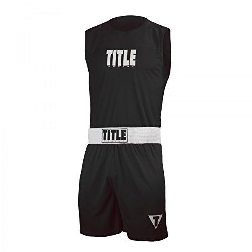 TITLE Choice Performance Amateur Boxing Set, Black/White, Large