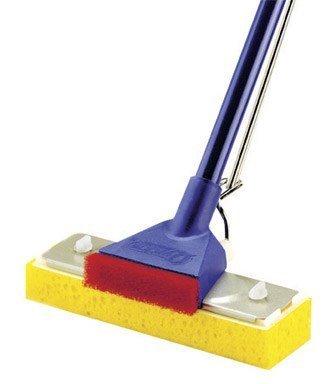 "Price comparison product image Quickie Sponge Mop Automatic Steel 2-3 / 4"" X 9"" Bulk"