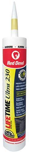 Red Devil 077020 Lifetime Ultra Premium Elastomeric Acrylic Latex Sealant, 10.1-Ounce, Almond for $<!--$4.84-->