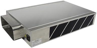 EASYTEC Plasma filtro/efectivo contra todos los olores/Modelo 2017/98 mm Socket de acabado plana/de aire limpiador filtro para campanas extractoras/filtro de olores/domaplasma IQS: Amazon.es: Grandes electrodomésticos