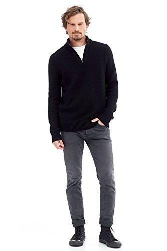 Quarter Zip Cashmere Sweater - 5