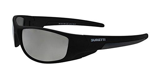 Gafas negro de Marrón Sol de s5018 SB SURETTI Size One Sport A6PwWOq5