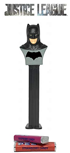 (Pez Candy DC Justice League Batman: Dispenser with 2 Candy)
