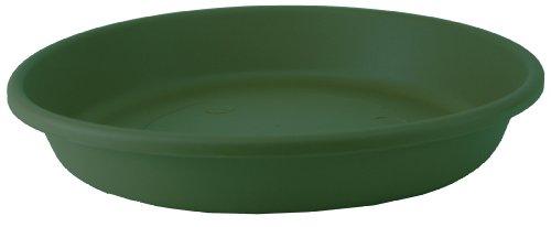 Akro Mils SLI20000B91 Classic Saucer for 20-Inch Classic Pot, Evergreen, 17.63-Inch ()