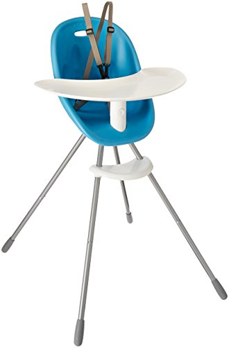 phil&teds Poppy Convertible High Chair, Bubblegum - Converts to Child Seat - Ultra-Hygenic Aerocore Seat - Seamless - Hypoallergenic - Anti-Microbial - Dishwasher Safe Tray - Easy Clean - Waterproof ()