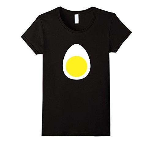 Womens Deviled Egg Funny Halloween Costume T-shirt Women Men Kids Medium Black - Deviled Egg Adult Costumes