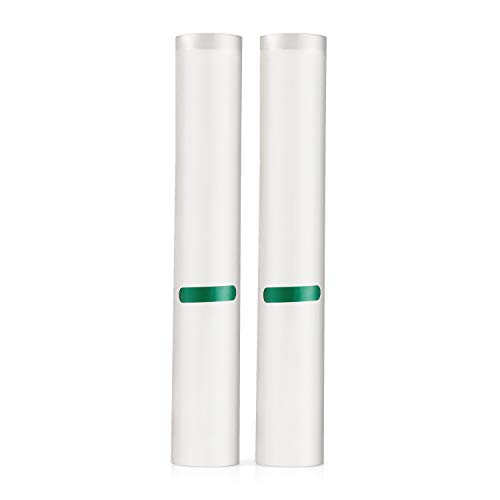 2 Pack of Vacuum Sealers Rolls Thicker, Heavy-Duty Commercial Quality Textured Vacuum Sealer Bags – BPA Free & FDA Approved